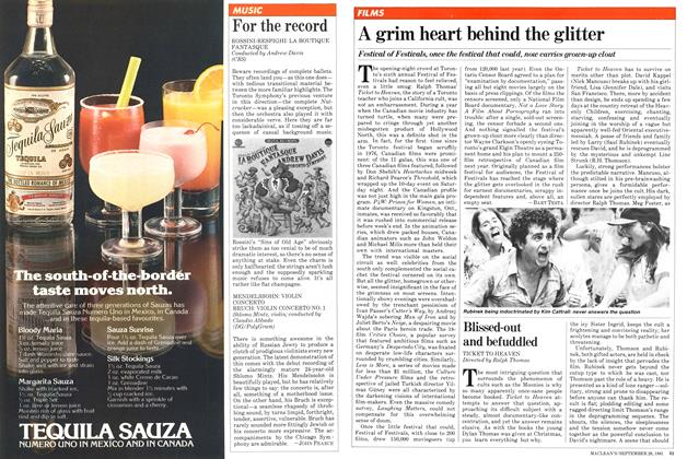 Article Preview: For the record, September 1981 | Maclean's