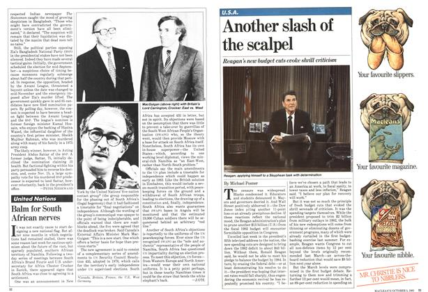 Article Preview: Another slash of the scalpel, October 1981 | Maclean's