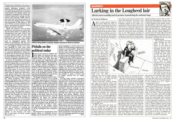Article Preview: Lurking in the Lougheed lair, October 1981 | Maclean's