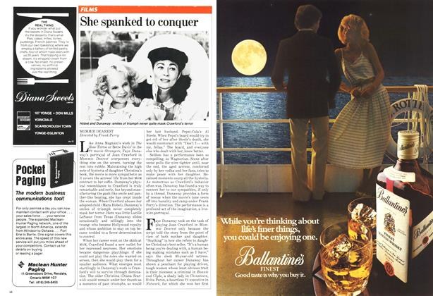 Article Preview: She spanked to conquer, October 1981 | Maclean's