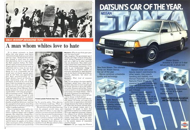 Article Preview: A man whom whites love to hate, October 1981 | Maclean's