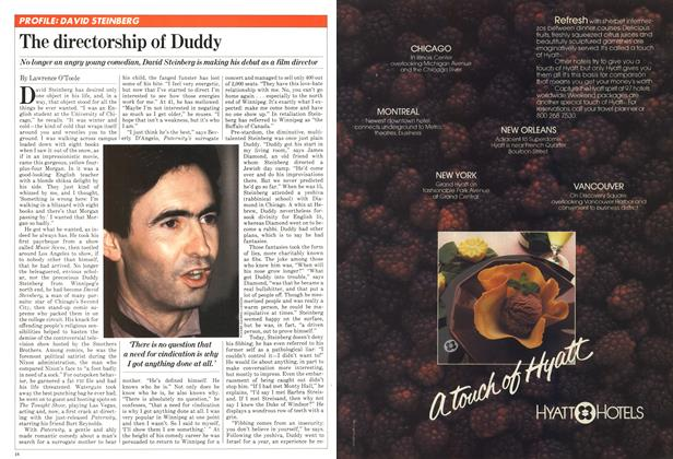 Article Preview: The directorship of Duddy, October 1981 | Maclean's