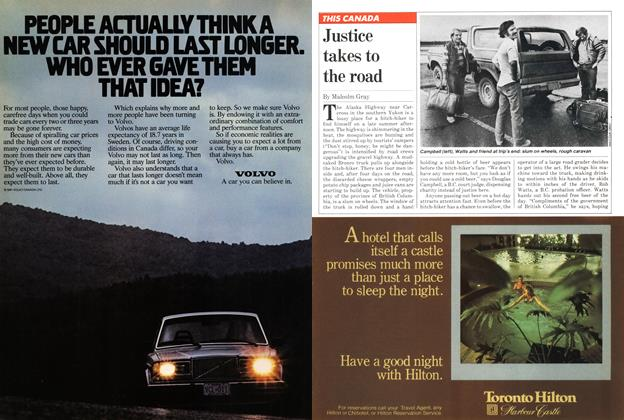 Article Preview: Justice takes to the road, October 1981 | Maclean's