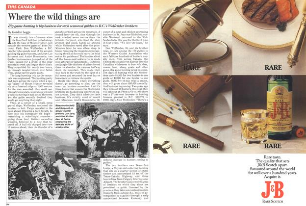 Article Preview: Where the wild things are, October 1981 | Maclean's