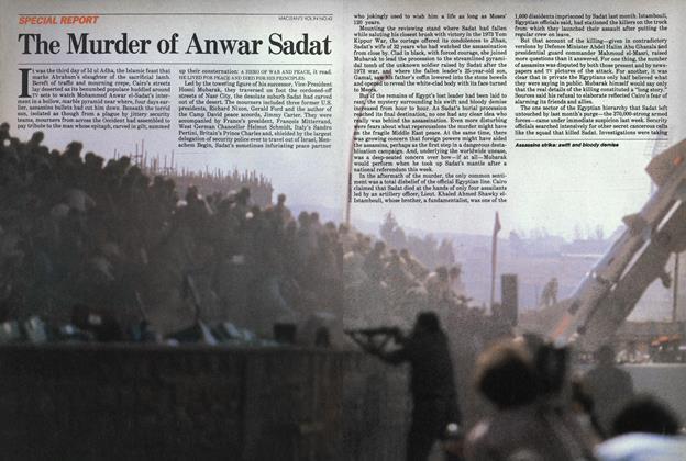 Article Preview: The Murder of Anwar Sadat, October 1981 | Maclean's