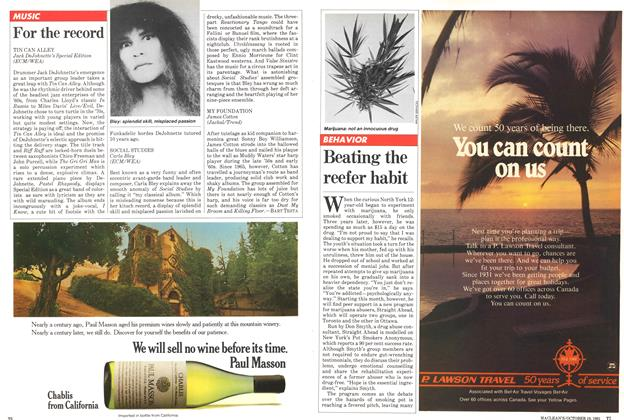 Article Preview: For the record, October 1981 | Maclean's