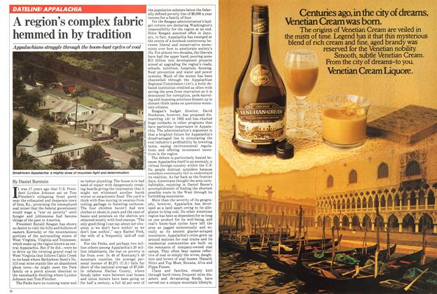 Article Preview: A region's complex fabric hemmed in by tradition, October 1981   Maclean's