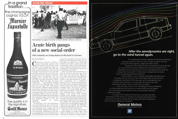 Article Preview: Acute birth pangs of a new social order, October 1981 | Maclean's