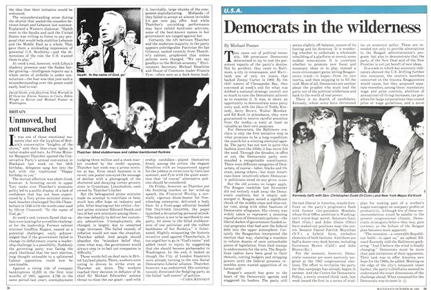 Article Preview: Democrats in the wilderness, October 1981 | Maclean's