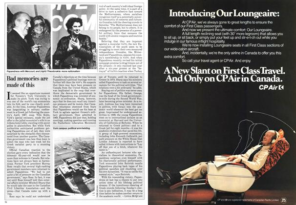 Article Preview: Bad memories are made of this, November 1981 | Maclean's