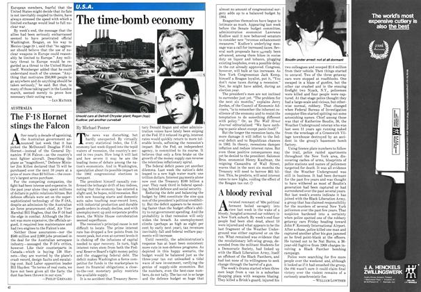 Article Preview: The time-bomb economy, November 1981 | Maclean's