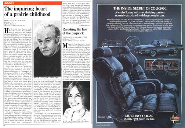 Article Preview: The inquiring heart of a prairie childhood, November 1981 | Maclean's