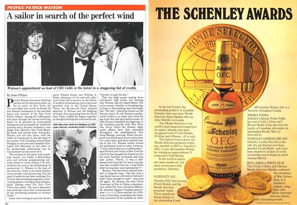 Article Preview: A sailor in search of the perfect wind, NOVEMBER 9,1981 1981 | Maclean's