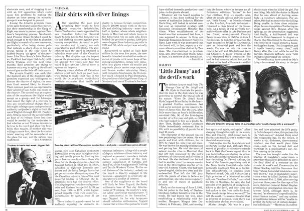 Article Preview: 'Little Jimmy' and the devil's work, NOVEMBER 9,1981 1981 | Maclean's