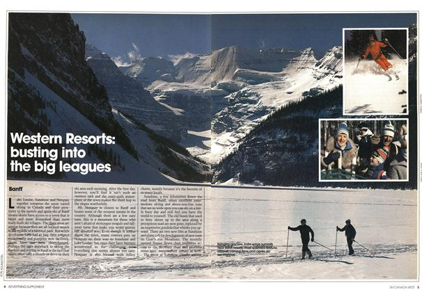 Article Preview: Western Resorts: busting into the big leagues, NOVEMBER 9,1981 1981 | Maclean's