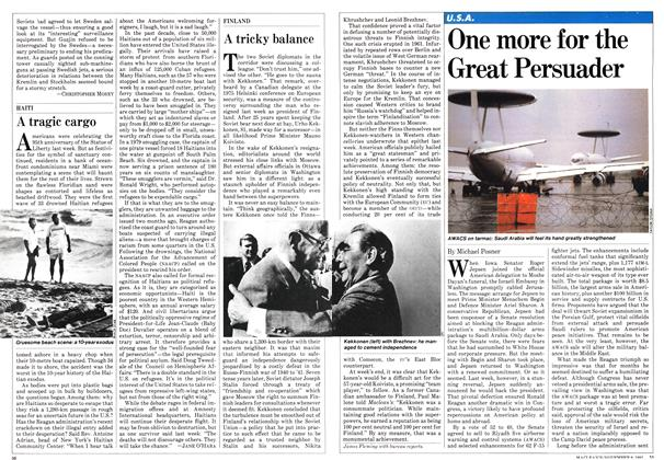 Article Preview: One more for the Great Persuader, NOVEMBER 9,1981 1981 | Maclean's