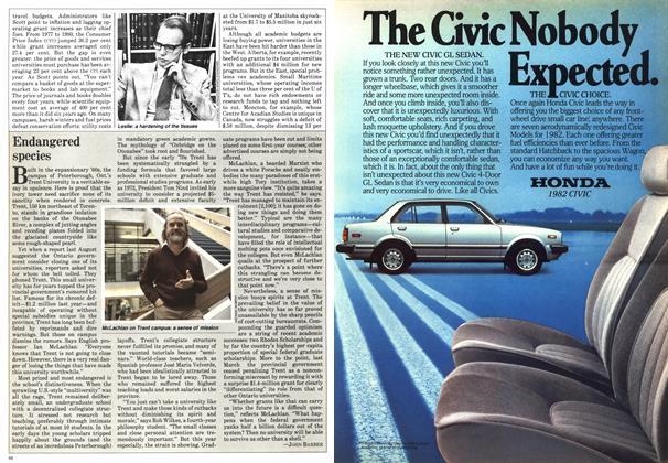 Article Preview: Endangered species, NOVEMBER 9,1981 1981   Maclean's