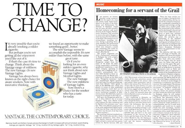 Article Preview: Homecoming for a servant of the Grail, NOVEMBER 9,1981 1981 | Maclean's