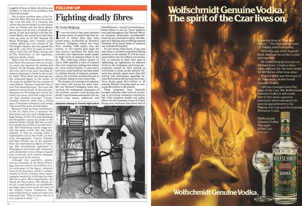 Article Preview: Fighting deadly fibres, November 1981 | Maclean's