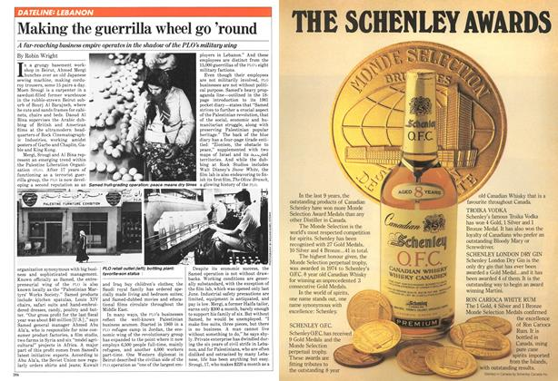 Article Preview: Making the guerrilla wheel go 'round, November 1981 | Maclean's