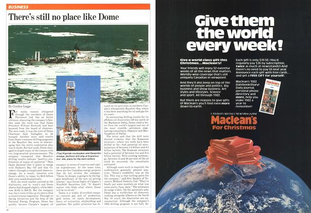 Article Preview: There's still no place like Dome, November 1981 | Maclean's