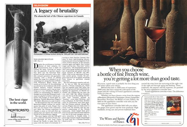 Article Preview: A legacy of brutality, November 1981 | Maclean's