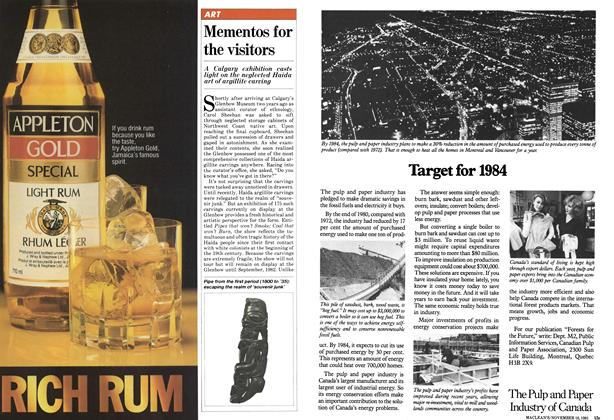 Article Preview: Mementos for the visitors, November 1981 | Maclean's