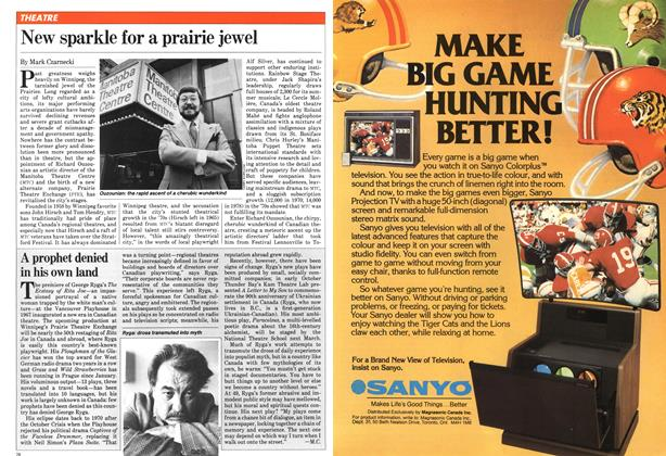 Article Preview: New sparkle for a prairie jewel, November 1981 | Maclean's