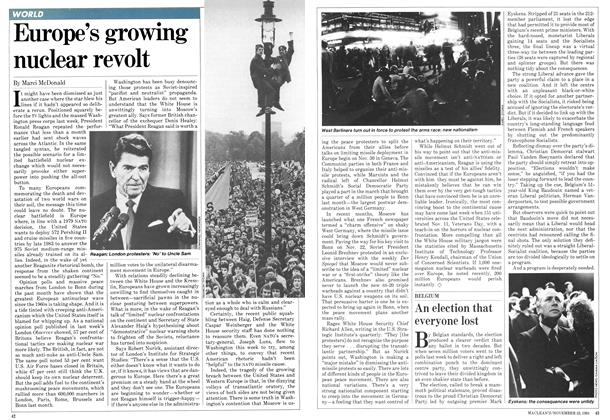 Article Preview: Europe's growing nuclear revolt, November 1981 | Maclean's