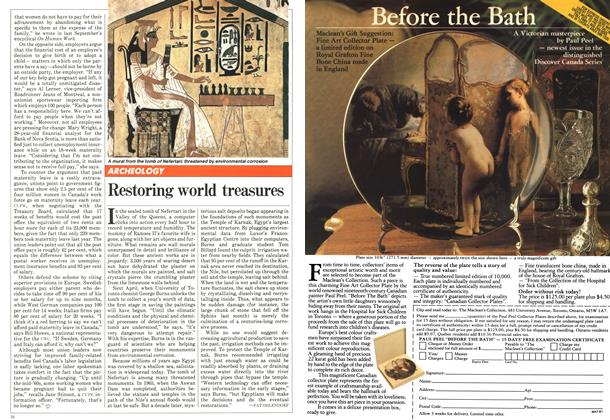 Article Preview: Restoring world treasures, November 1981 | Maclean's
