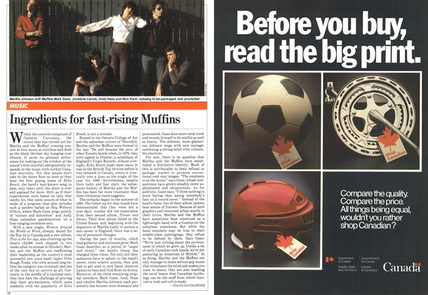 Article Preview: Ingredients for fast-rising Muffins, November 1981   Maclean's