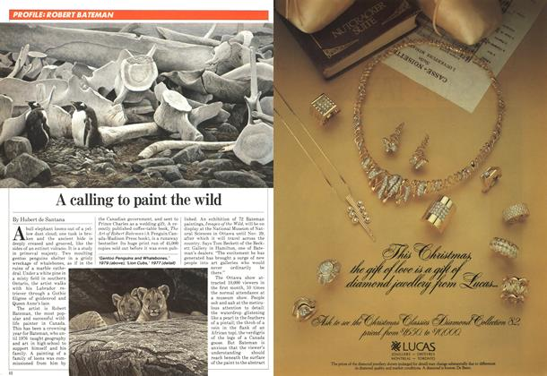 Article Preview: A calling to paint the wild, November 1981 | Maclean's