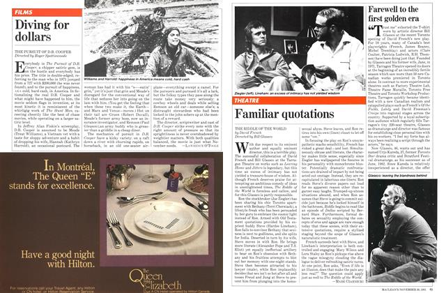 Article Preview: Familiar quotations, November 1981 | Maclean's