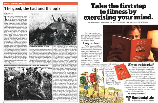 Article Preview: The good, the bad and the ugly, November 1981   Maclean's