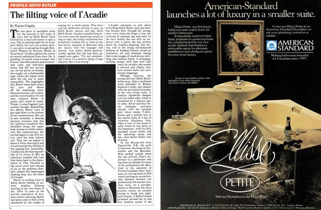 Article Preview: The lilting voice of l'Acadie, November 1981   Maclean's