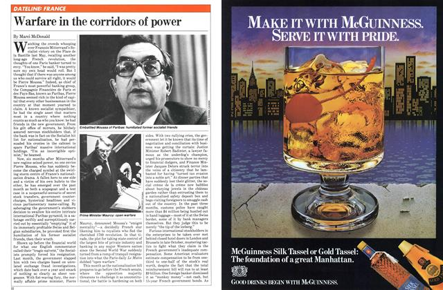 Article Preview: Warfare in the corridors of power, December 1981 | Maclean's