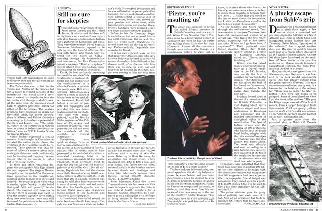 Article Preview: Still no cure for skeptics, December 1981 | Maclean's
