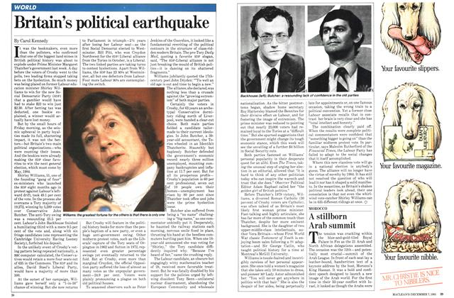 Article Preview: Britain's political earthquake, December 1981 | Maclean's