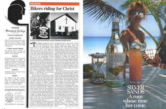 Article Preview: Bikers riding for Christ, December 1981 | Maclean's