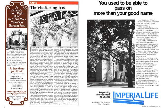 Article Preview: The chattering box, December 1981 | Maclean's