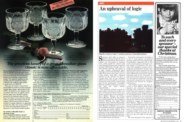 Article Preview: An upheaval of logic, December 1981 | Maclean's