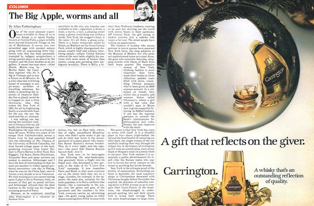 Article Preview: The Big Apple, worms and all, December 1981 | Maclean's