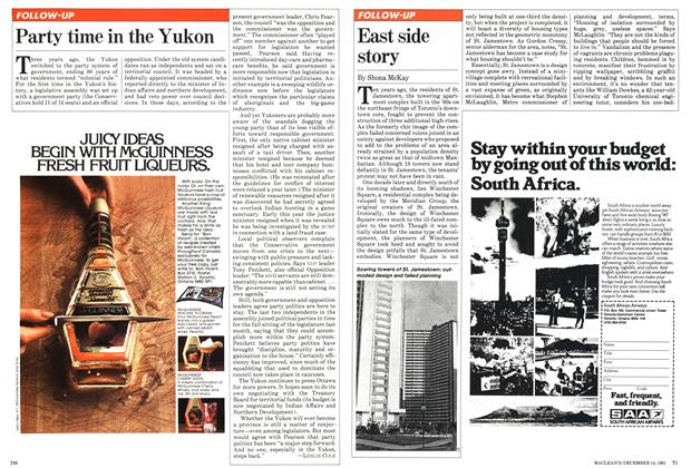 Article Preview: East side story, December 1981 | Maclean's