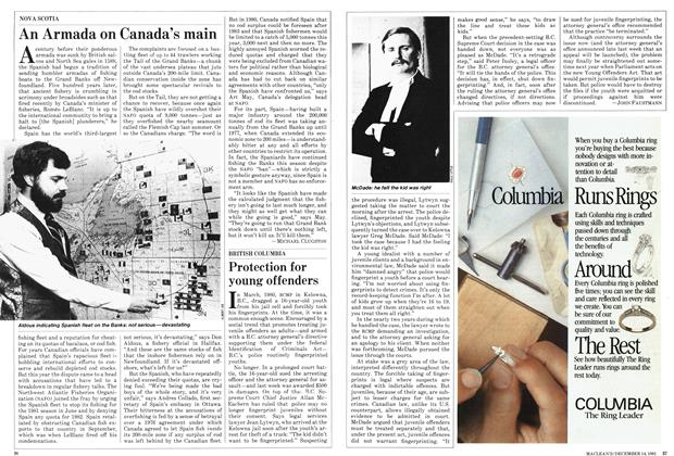 Article Preview: Protection for young offenders, December 1981 | Maclean's