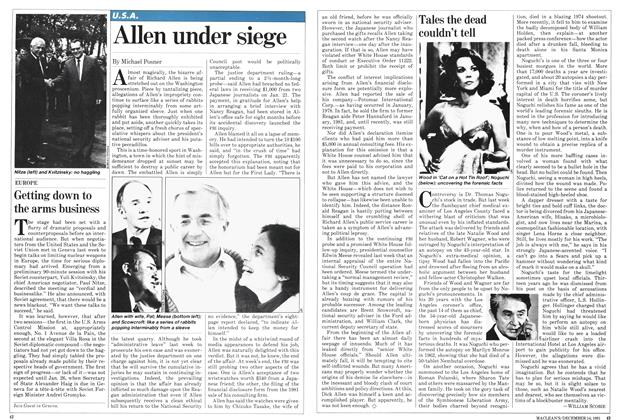 Article Preview: Tales the dead couldn't tell, December 1981 | Maclean's