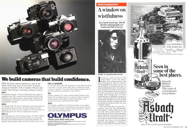 Article Preview: A window on wistfulness, December 1981 | Maclean's