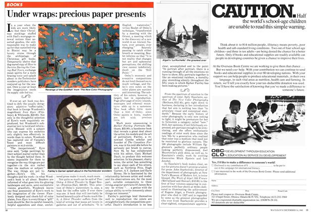 Article Preview: Under wraps: precious paper presents, December 1981 | Maclean's