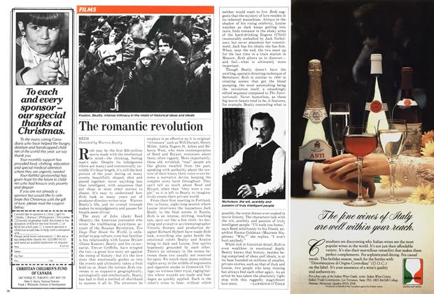 Article Preview: The romantic revolution, December 1981 | Maclean's