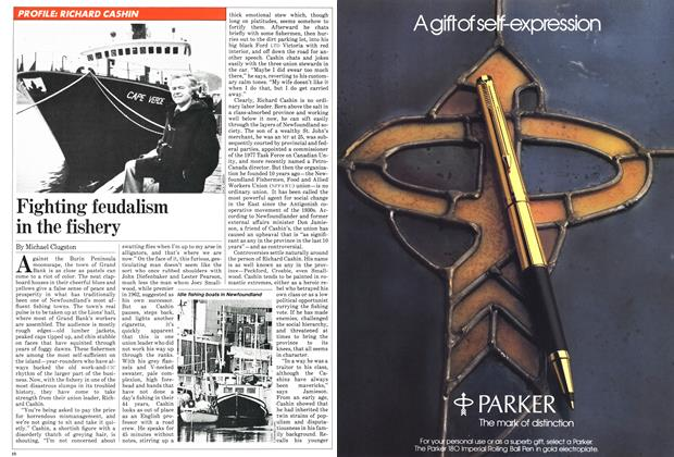 Article Preview: Fighting feudalism in the fishery, December 1981 | Maclean's