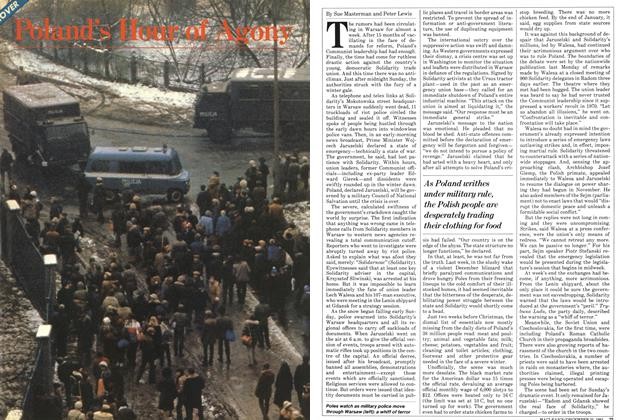 Article Preview: Poland's Hour of Agony, December 1981 | Maclean's